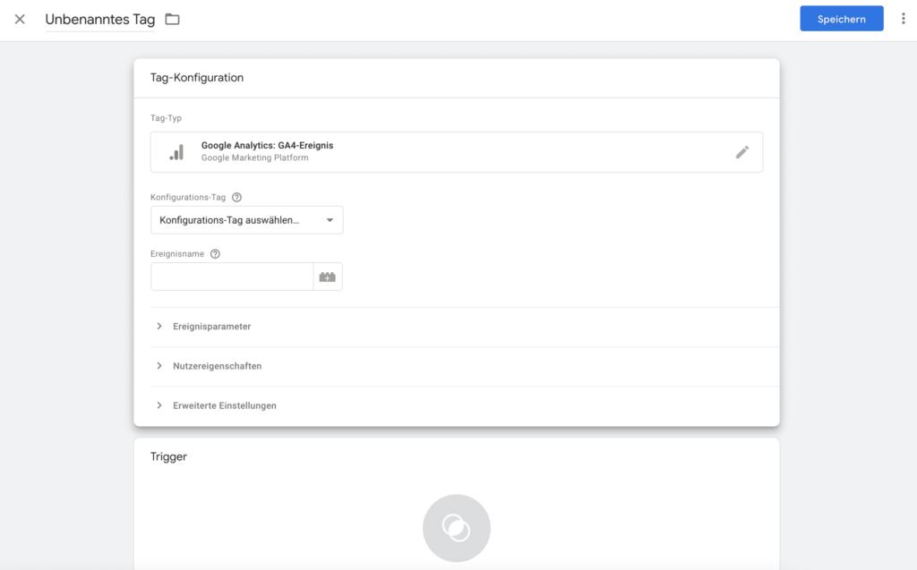 Shopify Google Analytics 4 - Ereignisse registrieren