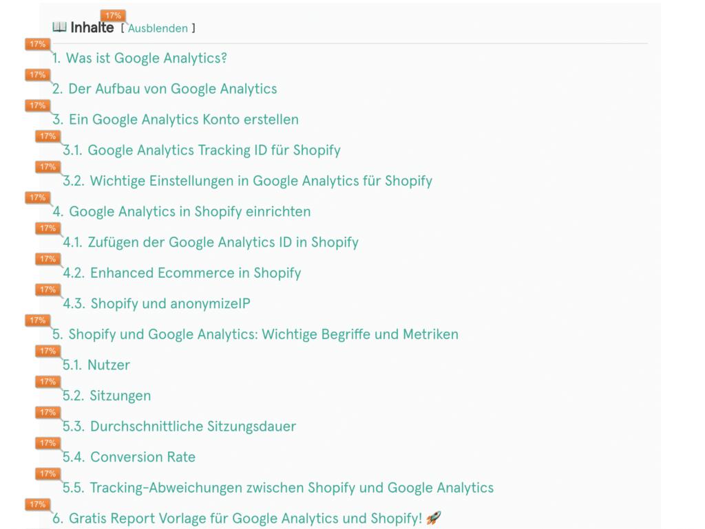Falsche Zahlen in den Heatmaps von Google Analytics