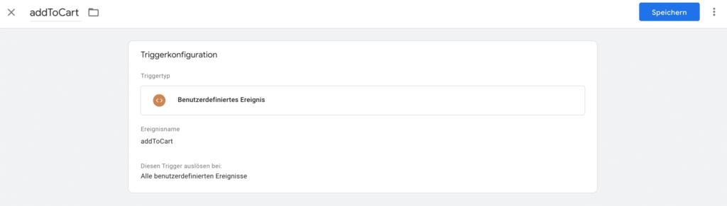 Google Tag Manager - Event aus dem Data Layer aufgreifen